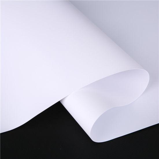 Frontlit Printing Media Flex Frontlit Plastic Banner for Promotion Flex Banner