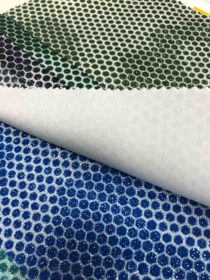 Rb321 New Design Fashion Polyester Oxford Fabric PVC/PU Polyester Twill Fabric