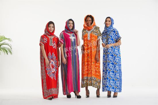 China 2019 New Classic Traditional African Fashion Kitenge Dress Designs With Lace China Clothes And Islamic Abaya Price