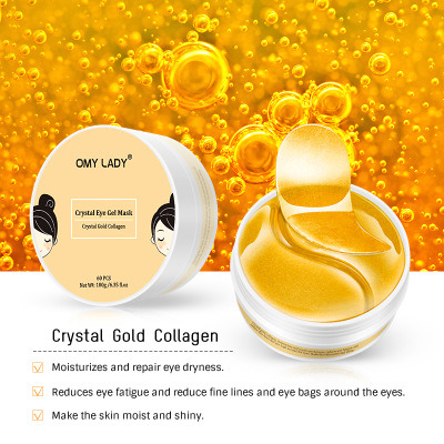 Collagen Crystal Eye Mask Relieves Eye Strain Reduces Fine Lines and Skin Under The Eyes