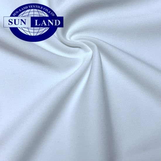 Elastic High-Stretch Sports Polyester Spandex Jersey Interlock Fabric for Gym Suit pictures & photos