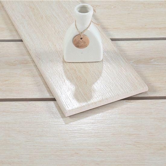 Building Materials 6X24 Inch Ceramic Wood Tile Flooring