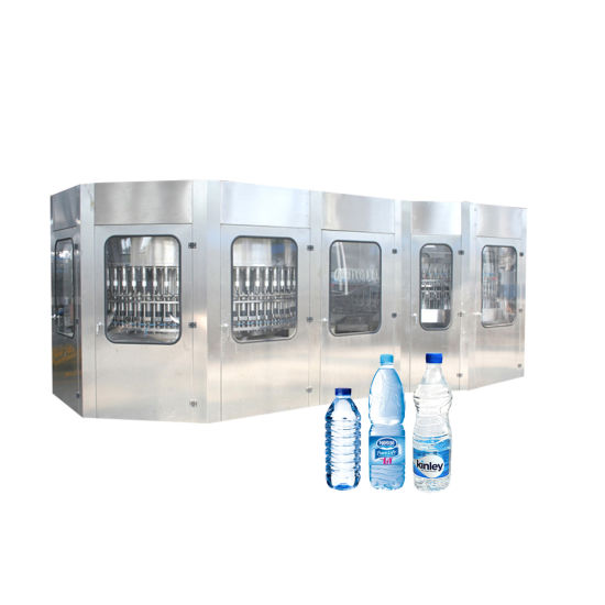 5000bph-24000bph Complete Line Washer Filler Capper in One Unit Pet Plastic Bottle Water Drinking Filling Packing Machine for Sale pictures & photos