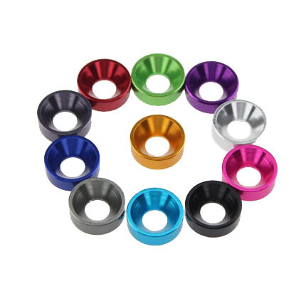 Aluminum Alloy Cone Cup Head Screw Gasket Conical Countersunk Washer