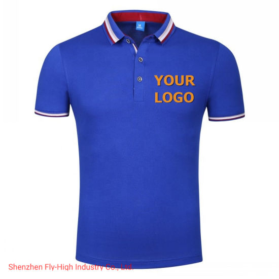 Best Quality Polo Shirts Custom Brand Embroidery Logo Printed Logo Golf Tennis Shirts Wholesale Men's Clothing Guangzhou Factory