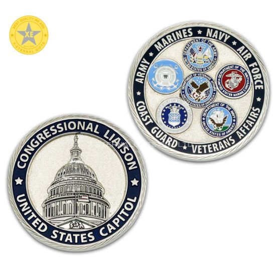 Free Sample Customized Most Valuable Commemorative Souvenir Gold Coins