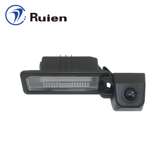Factory Direct HD Reversing Camera/License Plate Light Camera for Shanghai Skoda Yeti (spare tire) /Private Tooling