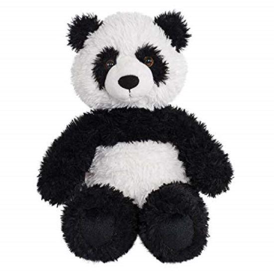 Customized Wholesale Stuffed Soft Panda Doll Plush Panda Mascot Animal Toy for Gift