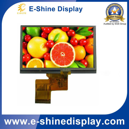 """7"""" inch resolution 800 X 480 high brightness TFT Capacitive LCD Touch panel"""