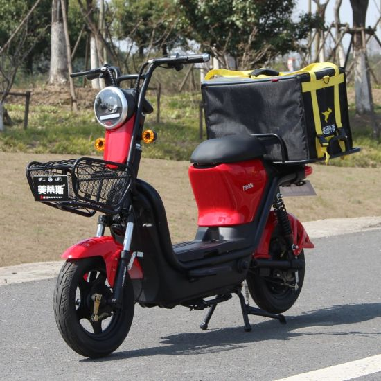Removing Battery Electric Scooter for Food Delivery