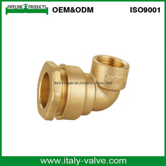Wholesale Price Female Elbow Brass Compression Fitting for PE Pipe