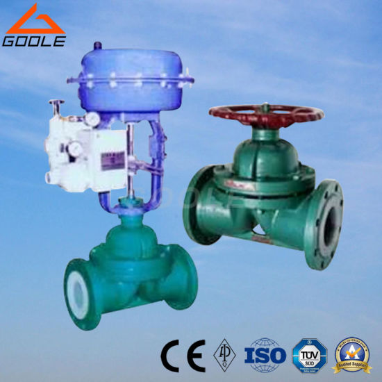 China ptfe lined pneumatic weir type diaphragm valve g641f china ptfe lined pneumatic weir type diaphragm valve g641f ccuart Image collections