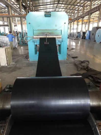 Wear Resistant Abrasive Rubber Conveyor Belt in Qingdao