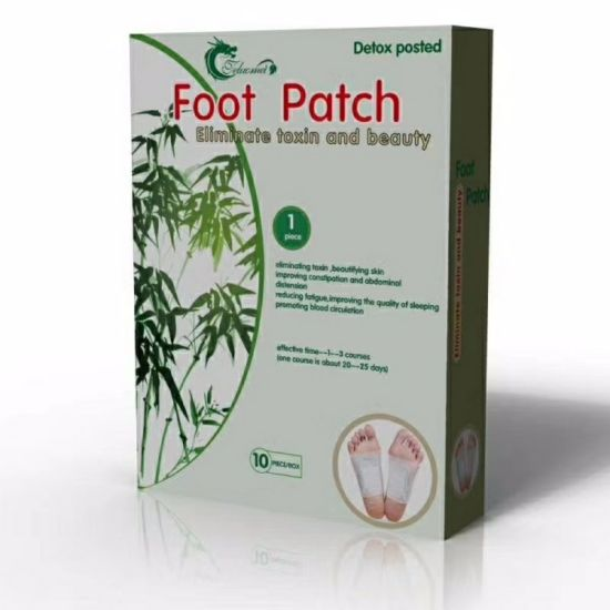 Pay Attention to Foot Health Detox Foot Patch