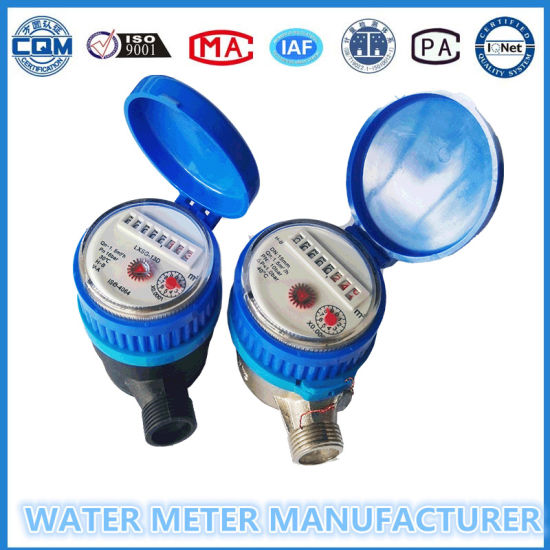 "3/4""Dry Dial Single Jet Water Meter pictures & photos"