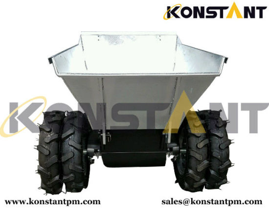 China Powered Wheelbarrows for Sale/Muck Truck/Mini Dumper