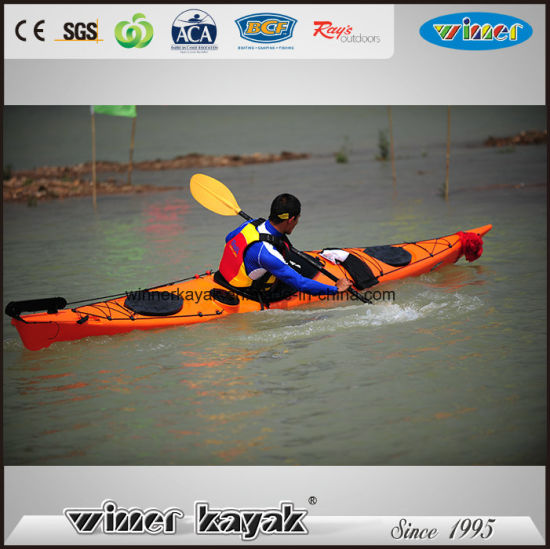 Winner Single Touring Sit in Plastic Kayak by Sale in China