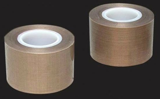 Heat Resistant Fiberglass Adhesive Tape with Teflon Coated pictures & photos