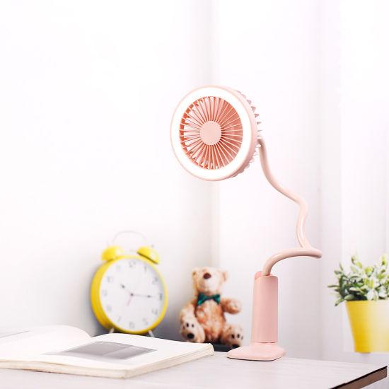 Gift LED Battery Mini Portable Fan
