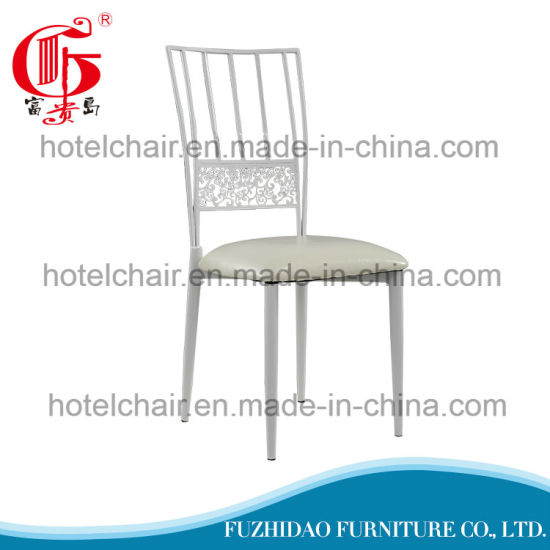White Dining Chair Metal Rustic For Outdoor Lifestyle