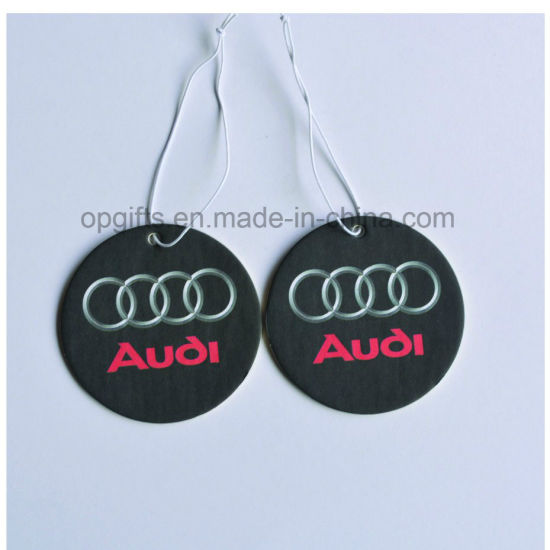 Promotional Gifts Hanging Paper Car/Household Air Freshener Perfume pictures & photos