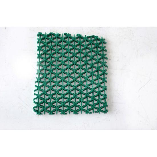 PVC S Type Anti-Slip Water Proof Carpet Mat in Roll