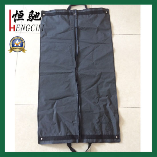 Foldable Custom Print PEVA Garment Bag with Clear Window pictures & photos