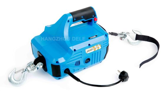0.5ton Traction Wire Rope Hoist Winch Electrical pictures & photos
