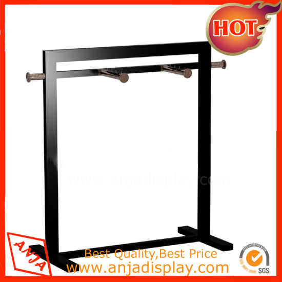 Metal Clothing Display Fixture Hanging Display Stand pictures & photos