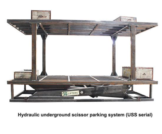 Hydraulic Underground Scissor Parking System