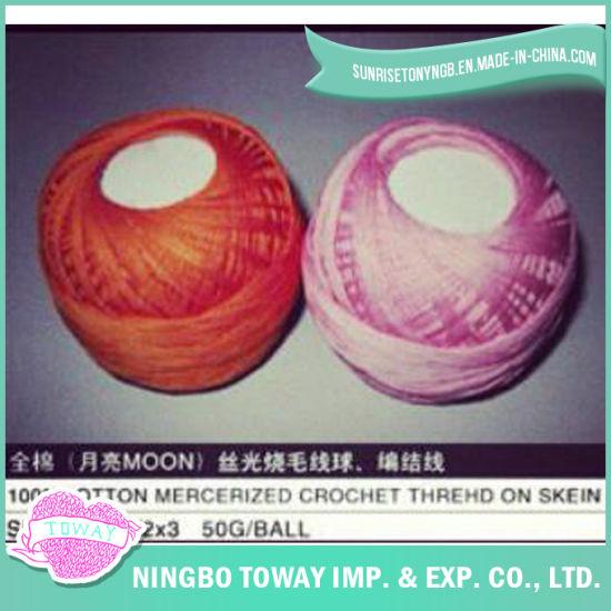 100% Cotton Cross Stitch Thread Winter Hat Wool Yarn