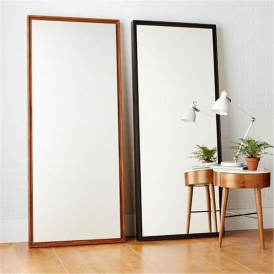 Safety Polished Kinds Shape Aluminum/Silver Mirror Dressing Mirror for Living Room