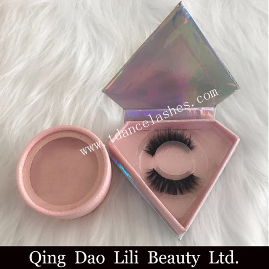 f05647311b6 Strip Eyelash Faux Mink Lashes 3D Mink Lashes with Custom Eyelash Packaging  pictures & photos