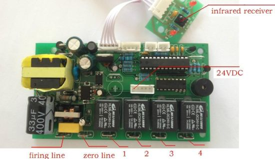 Remote Control Board of Fireplace for Wholesale (FR-001) pictures & photos