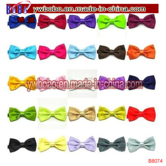 NEW BRIGHT RED Pretied Pre Tied Childrens Bow Tie Adjustable Wedding Prom Dickie