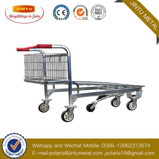 Heavy Duty Warehouse Trolley /Shopping Trolley/Shopping Cart