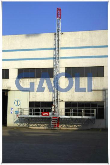 China Gaoli Mast Climbing Work Platform/ ISO Certification SCP220 ...
