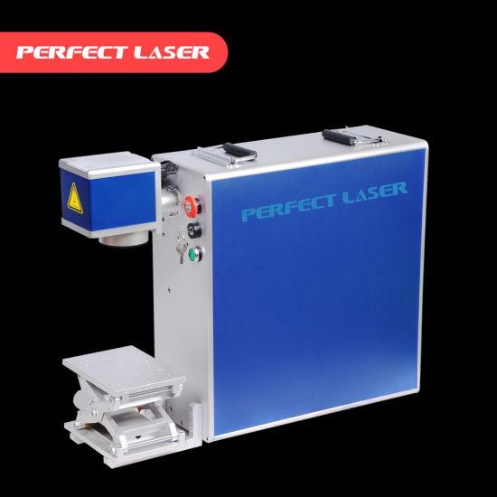 Portable 20W 30W Mini Color Fiber Laser Marking Machine