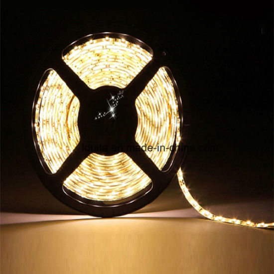 5050 60LEDs/M 12V Waterproof White LED Flexible Strip Light pictures & photos