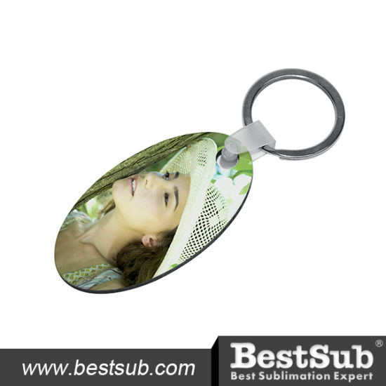 Bestsub Oval Hb Personalized Sublimation Key Ring (MYA05) pictures & photos