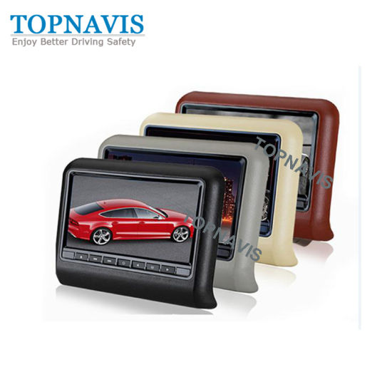 9 Inch Car Headrest DVD Player with Digital Panel pictures & photos