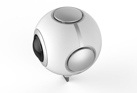 HD720 Degree Dual Spherical Fisheye Lens Panoramic Vr Camera for Android pictures & photos