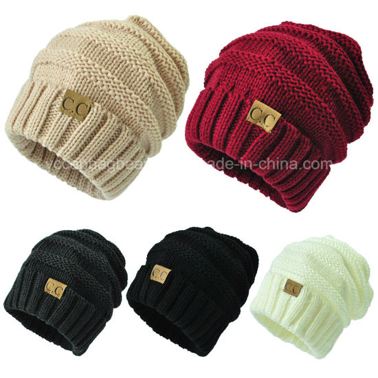 e8710d3f33b China Hot Selling Funny Men′s Knit Slouch Beanie - China Beanie ...