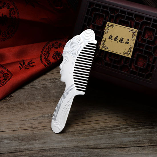 The S999 Pure Silver Comb The Ladies′ Head Comb pictures & photos