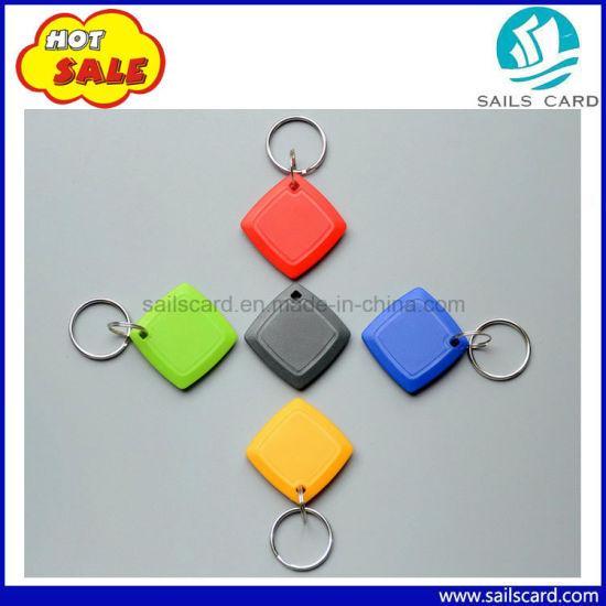Hot Selling Custom Printing Red RFID Key Tag pictures & photos