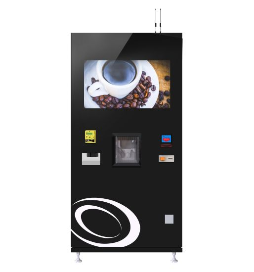 Fresh Coffee Vending Machine with Cup Dispenser and Ice Maker