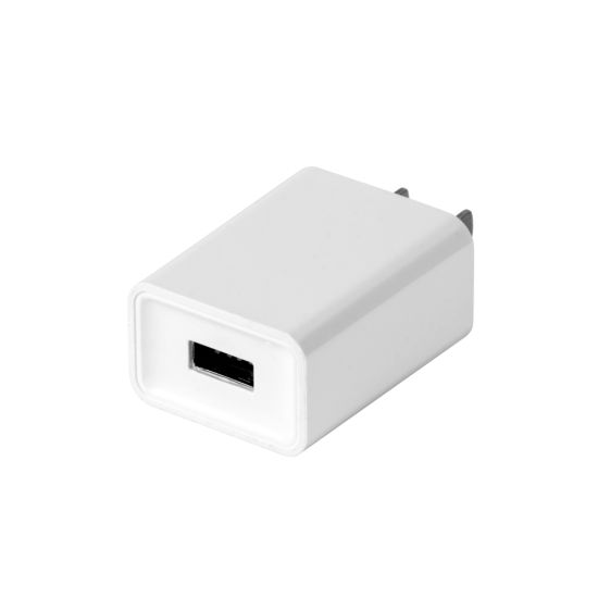QC3.0 Wall Charger Single Port Us Plug with Ocp, Ovp, Otp, Short Circuting Protection