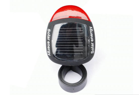 Waterproof Solar Bicycle Tail Light pictures & photos