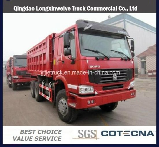 Famous Brand Sinotruk HOWO Tipper Truck for Sale