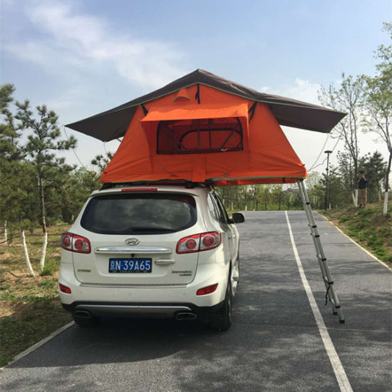 Auto C&er Trailer Car Roof Tent 4WD 4X4 C&ing Car Roof Top Tent with Side Awning & China Auto Camper Trailer Car Roof Tent 4WD 4X4 Camping Car Roof ...